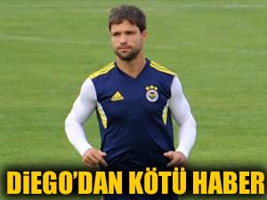 Diego Ribas'tan kötü haber!