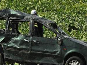 Gurbetçi aile kaza yaptı: 3 ölü, 7 yaralı