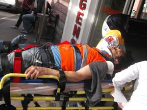 Erzurum'da iş kazası: 1 ölü