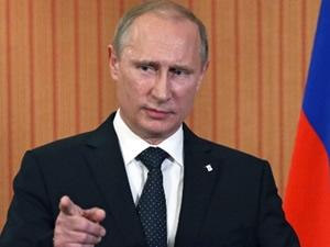 Putin'den reste rest
