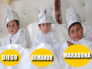 Diego, Armando, Maradona sünnet oldu!