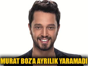 Murat Boz'a ayrılık yaramadı...