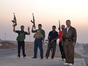 Gönüllü peşmergeler IŞİD'e karşı cephede
