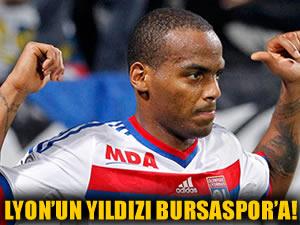 Lyon'un yıldızı Bursaspor'a doğru!