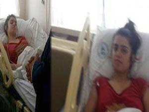 Kübra'nın hastanedeki ilk görüntüleri
