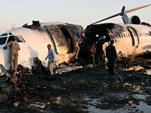 İran'da yolcu uçağı düştü, onlarca ölü var