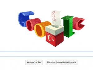 Google seçim mesajı mı veriyor ?