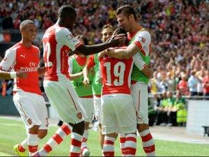 Arsenal, Manchester City'i 3-0 yendi