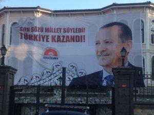 Erdoğan balkon konuşması için hazır