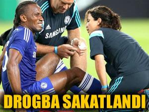 Didier Drogba sakatlandı!