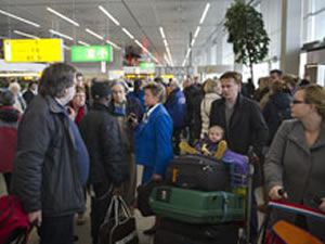 Havaalanında bomba paniği