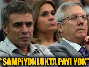 """""""Ersun Yanal'ın şampiyonlukta payı yok"""""""