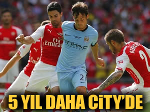 David Silva 5 yıl daha City'de!