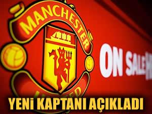 Mancester United'ın yeni kaptanı belli oldu!