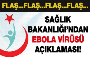 Sağlık Bakanlığı'ndan İstanbul'da Ebola şüphesi açıklaması