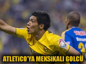 Atletico'ya Meksikalı golcü