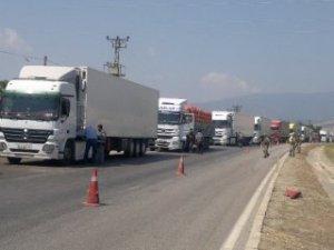 Sivas'ta 28 kaçak göçmen yakalandı!