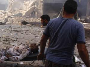 Suriye ordusundan Şam'a saldırı