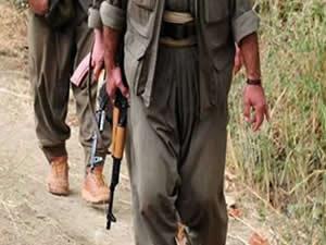 Teröristler kadın ve çocuklarla teslim oldu!