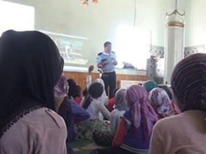 Camide ehliyet eğitimi