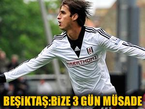 Beşiktaş: Bize 3 gün müsaade