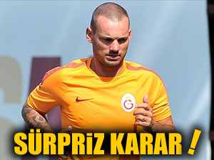 Aslan'da ikinci kaptan Wesley Sneijder