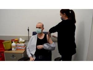 Trakya'da 1 doz aşı tamamlanmak üzere
