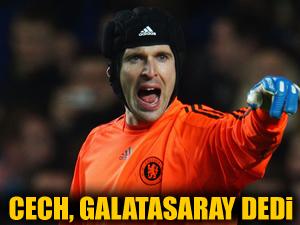 Cech, Galatasaraylılar'ı gururlandırdı!