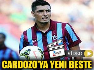 Trabzonspor taraftar grubundan Cardozo'ya yeni beste!