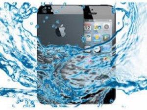 Cep telefonunuz sıvı ile temas mı etti?