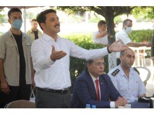 Edremit'te resmi bayramlaşma yapıldı
