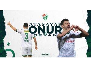 Bursaspor, Onur Atasayar'la yeniden anlaşmaya vardı