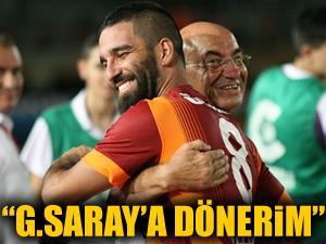 Arda: Galatasaray'a dönerim