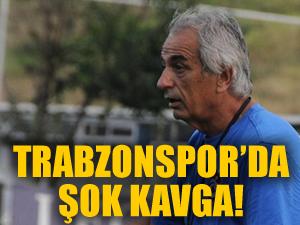 Trabzonspor'da herkesi şok eden kavga!