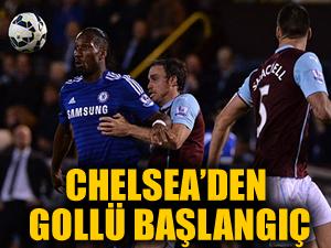 Chelsea'den gollü başlangıç: 1-3
