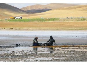 Türkiye'nin ikinci büyük gölü, ziyaretçilerin gözde mekanı oldu