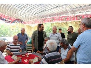 Başkan Yılmaz, bayramda vatandaşlarla bir araya geldi