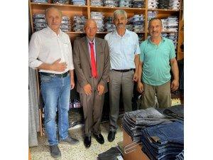 Başkan Atabay, takım elbise sözünü tuttu