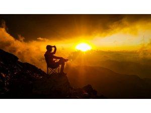 Kahramanmaraş'ta gün batımı görsel şölen oluşturdu