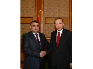 Cumhurbaşkanı Erdoğan ve DATÜB Genel Başkanı Ziyatdin Kassanov ile telefonla görüştü