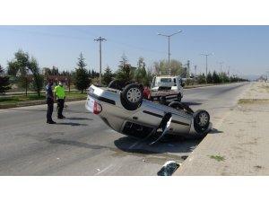 Sandıklı'da trafik kazası: 5 yaralı