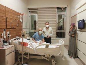 Başkan Kılınç, sağlık çalışanları ve hastaların bayramını kutladı