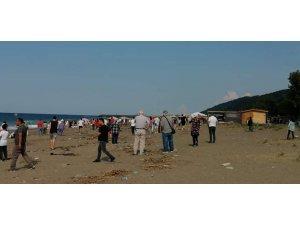 Kastamonu'da denizde kaybolan genci arama çalışması sürüyor