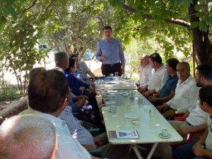 Milletvekili Tutdere Gölbaşı ilçesinde köylüleri dinledi