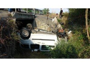 Bayram dönüşü kaza: 3 ölü, 2 ağır yaralı