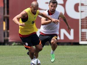 Galatasaray, PSV maçı hazırlıklarını sürdürdü