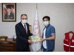 Kayserili LGS birincisi Galatasaray Lisesi'ne yerleşti