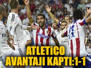 Atletico kupaya göz kırptı: 1-1