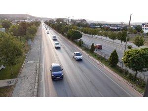 9 günlük bayram tatilinde Afyonkarahisar'dan 400 bin araç geçiş yaptı