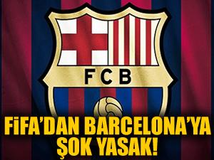 FIFA'dan Barcelona'ya şok yasak!